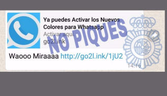 alerta whastapp color